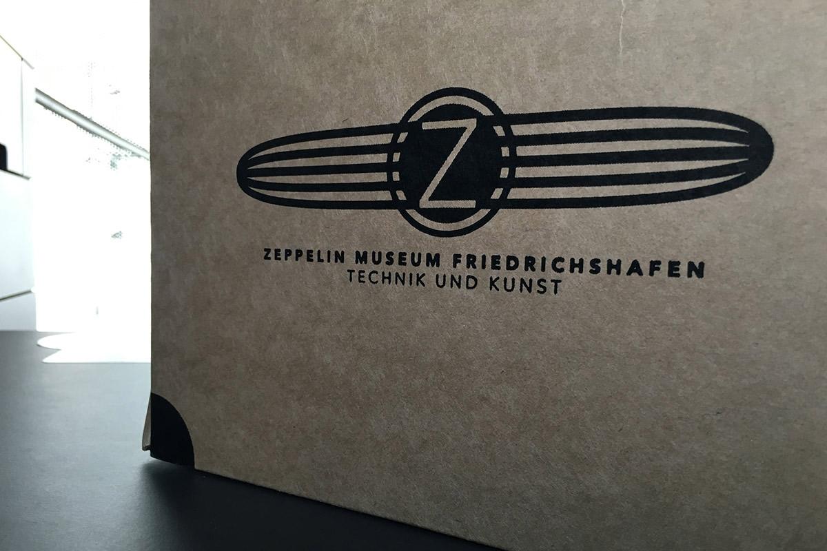 Zeppelinmuseum in Friedrichshafen am Bodensee
