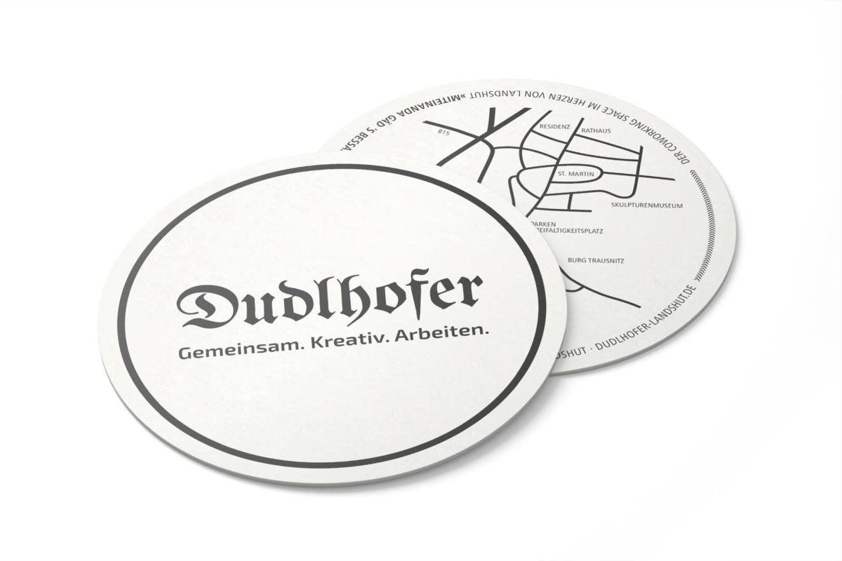 Dudlhofer Coworking Landshut Dreifaltigkeitsplatz Visual Merchandising Gestaltung