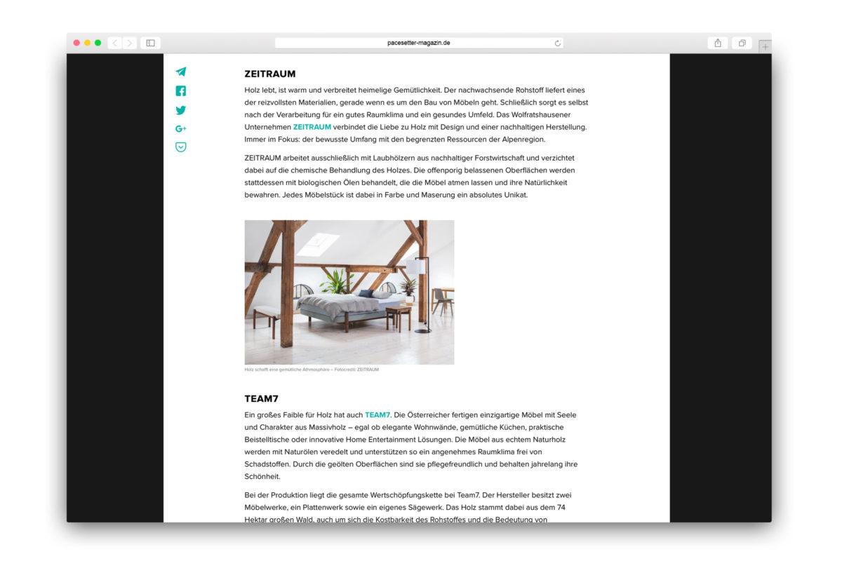 Jaguar-Pacesetter-Ipace-Magazine-Nachhaltig Einrichten-Zeitraum