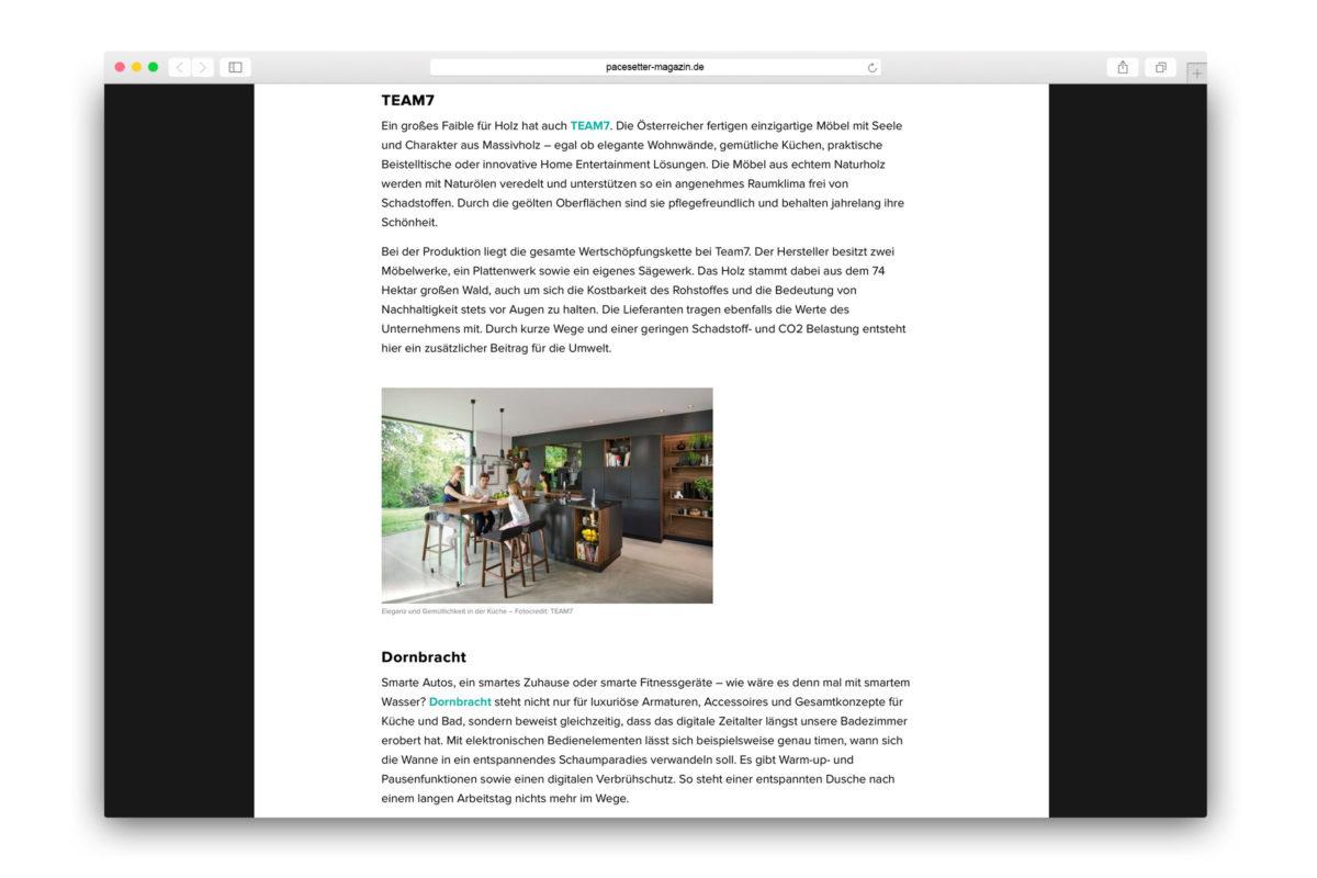 Jaguar-Pacesetter-Ipace-Magazine-Nachhaltig Einrichten-TEAM7