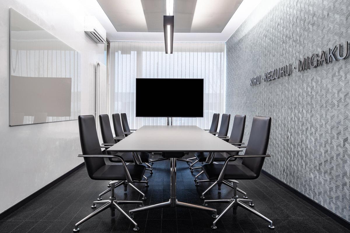Officedesign, Office, Meetingräume, Arbeitswelten,  Interiordesign, München, DISCO HI-TEC Europe GmbH, HEIKESCHWARZFISCHER