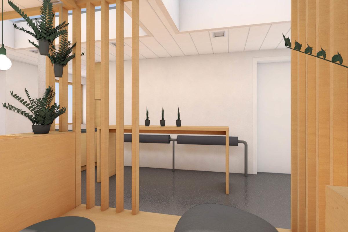 Designkonzept für die Lounge der DISCO HI-TEC in Kirchheim bei München im japanischen Stil © Innenarchitekt: Heike Schwarzfischer Interiordesign Landshut
