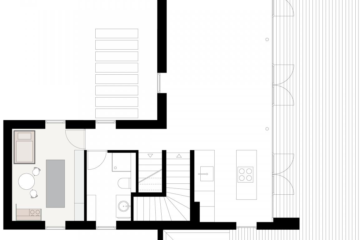 Einrichtungsplanung eines Kinderzimmers im skandinavisch puristischen Stil © Heike Schwarzfischer Interiordesign in Landshut bei München