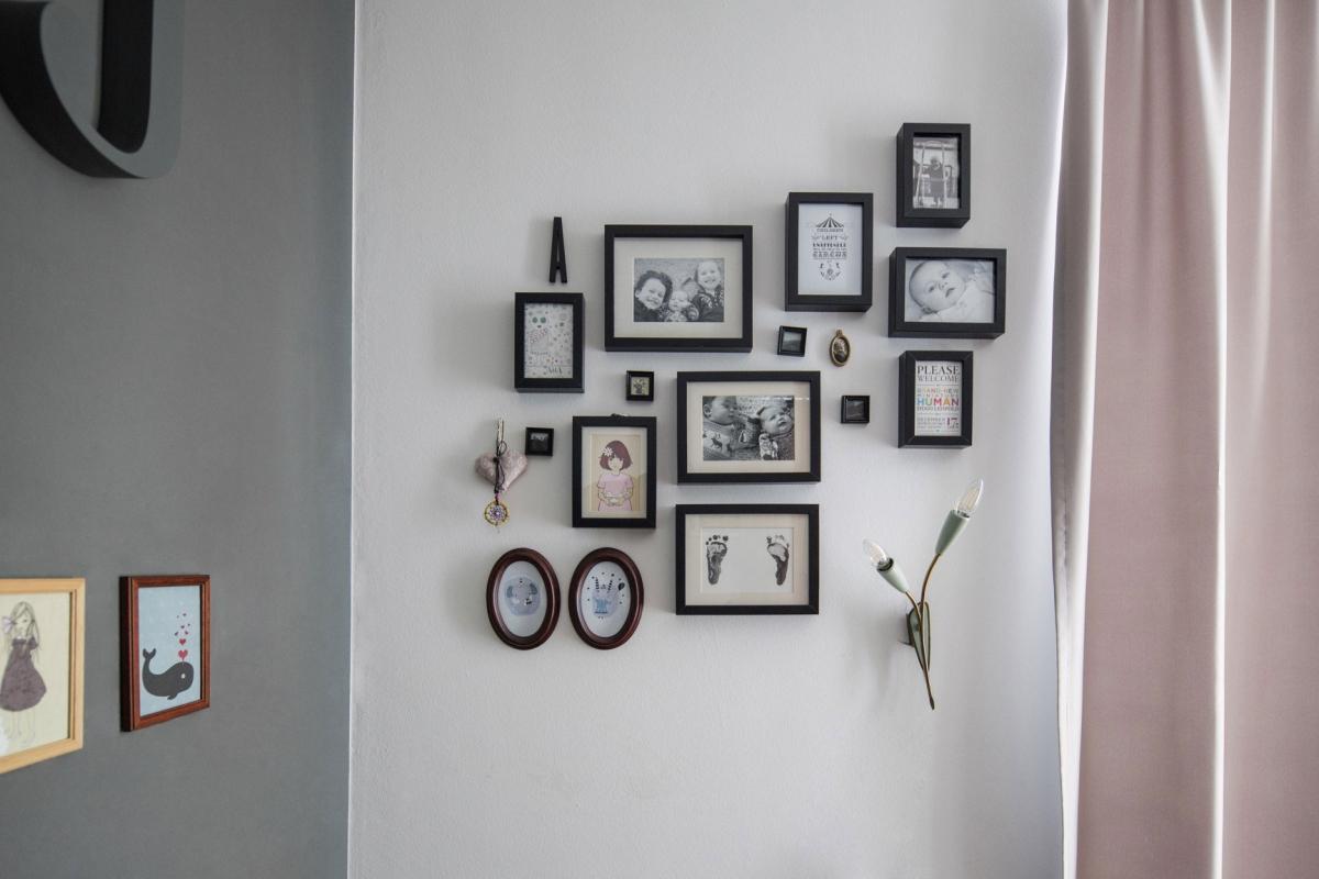 Individuelle Wandgestaltung mit Fotos in einem Kinderzimmer im skandinavischen Stil © Heike Schwarzfischer Interiordesign in Landshut bei München08