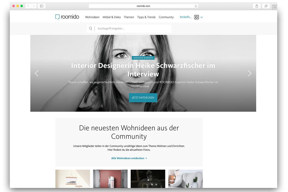 Roomido Interview mit Interior Designer Heike Schwarzfischer