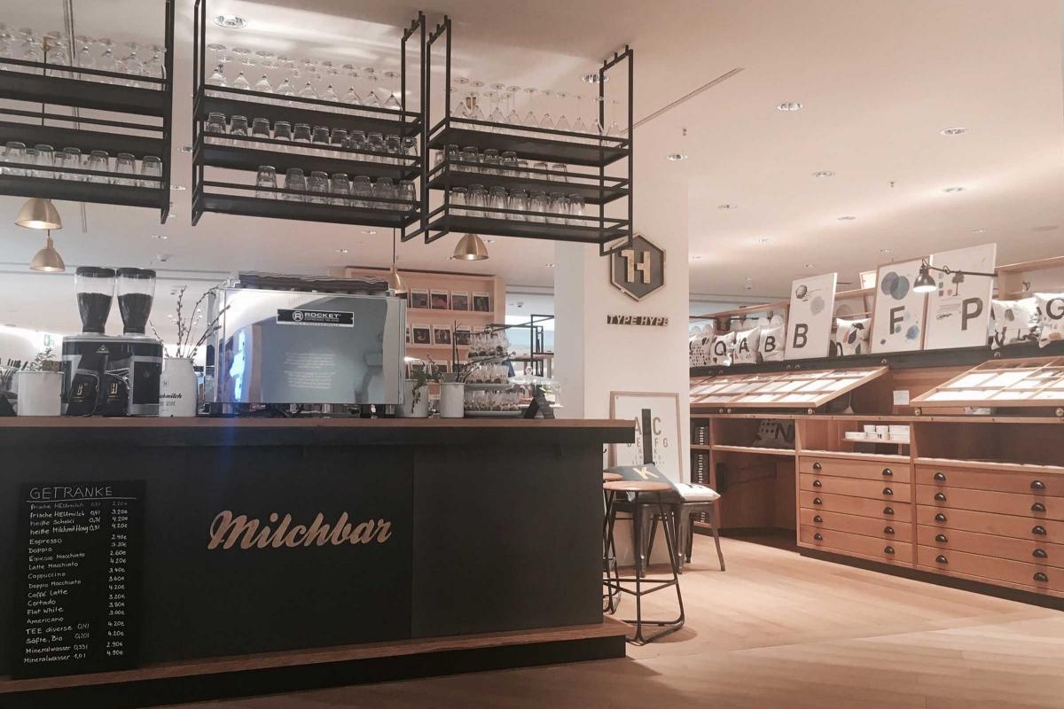 Interior Design Type Hype Store Oberpollinger München Milchbar