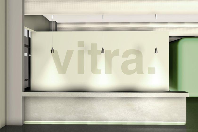 Vitra, Showroom, Empfang, Weil am Rhein, Rezeption, Office, Fachhochschule Rosenheim, Innenarchitektur - HEIKESCHWARZFISCHER